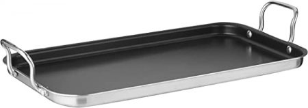 Cuisinart Double Burner Griddle, Stainless Steel