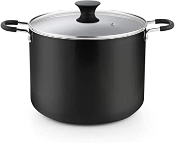 Cook N Home Cookware Nonstick Stockpot with Lid