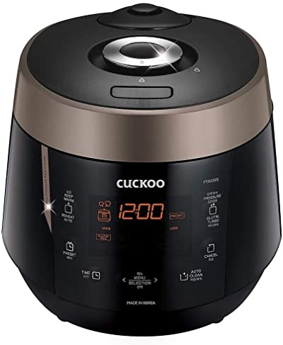 Cuckoo CRP-P0609S 6 cups Electric Heating Pressure Rice Cooker & Warmer