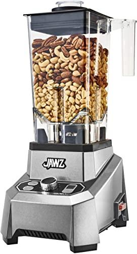 JAWZ High Performance Blender, 64 Oz Professional Grade Countertop Blender